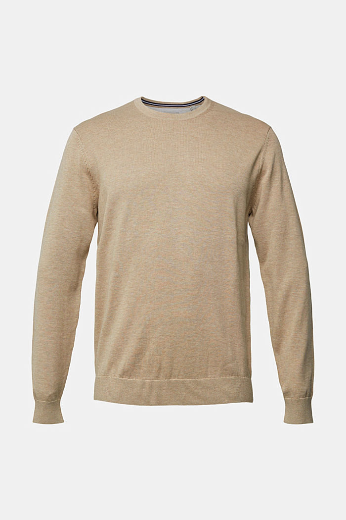 Jumper made of 100% organic pima cotton, BEIGE, detail image number 5