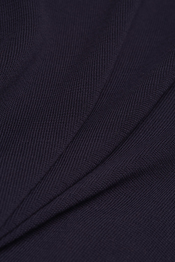 Jumper made of 100% organic pima cotton, NAVY, detail image number 4