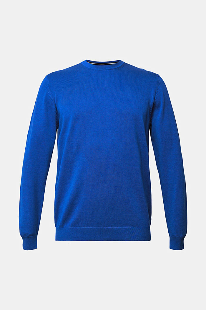 Jumper made of 100% organic pima cotton, BRIGHT BLUE, detail image number 6