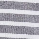 Striped jumper made of 100% organic cotton, MEDIUM GREY, swatch