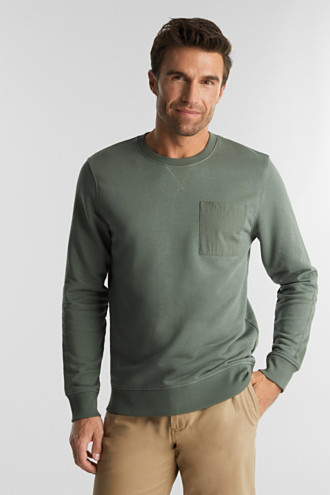 Recycled: Sweatshirt with organic cotton