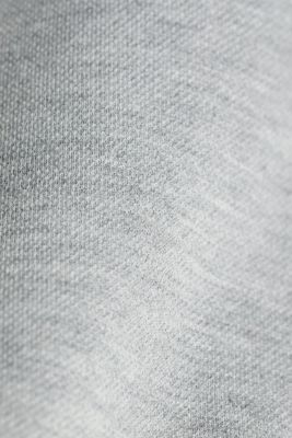 Textured jumper with organic cotton, MEDIUM GREY 5, detail