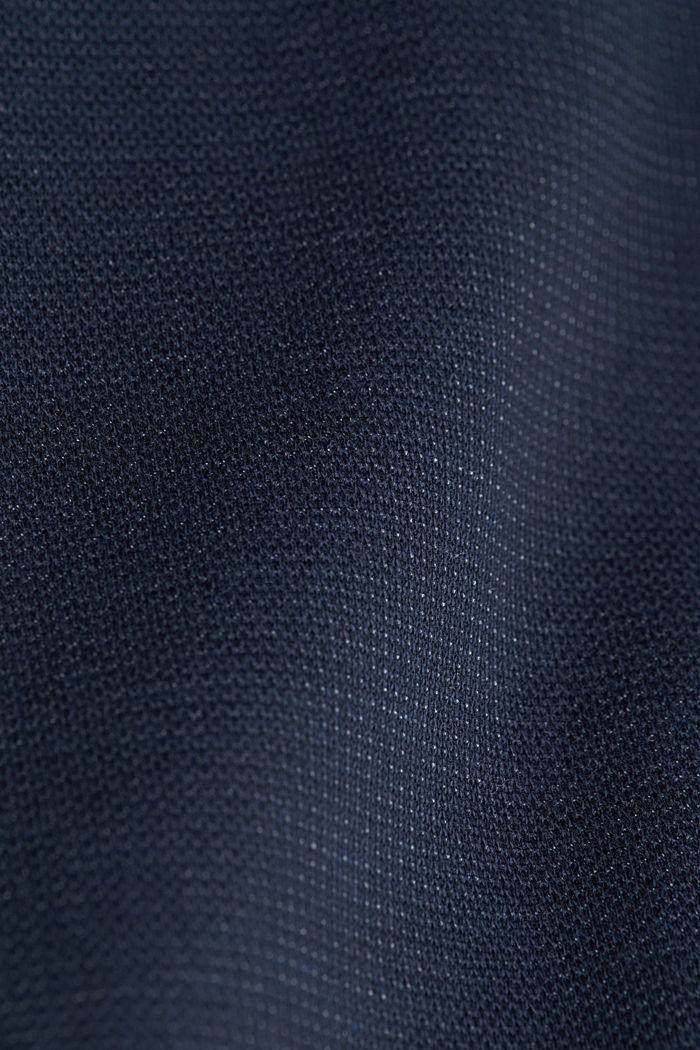 Textured jumper with organic cotton, DARK BLUE, detail image number 2