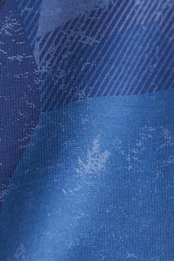 Jersey top in 100% organic cotton, NAVY, detail image number 4