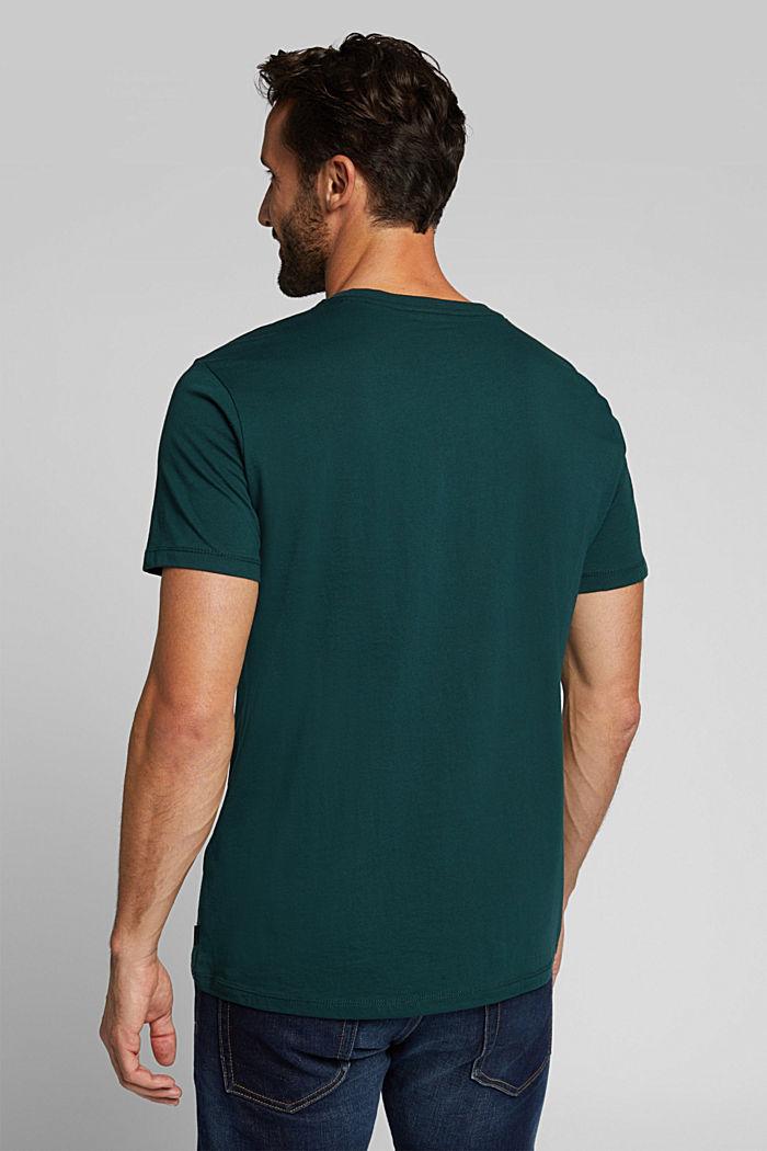 Jersey top made of 100% organic cotton, DARK GREEN, detail image number 3