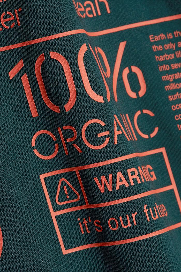 Koszulka z jerseyu w 100% z bawełny organicznej, DARK GREEN, detail image number 4