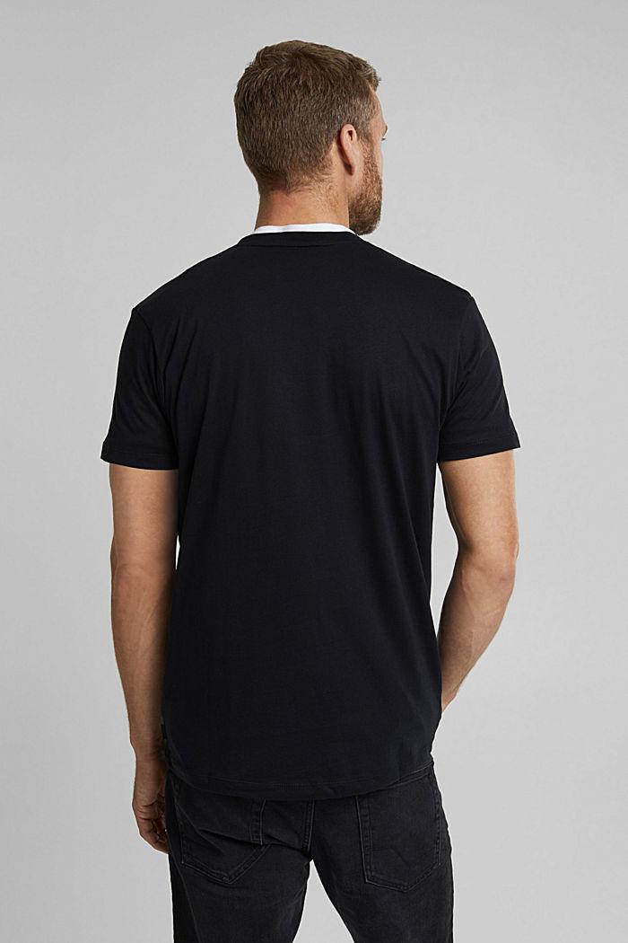 T-Shirt mit Foto-Print, 100% Organic Cotton, BLACK, detail image number 3