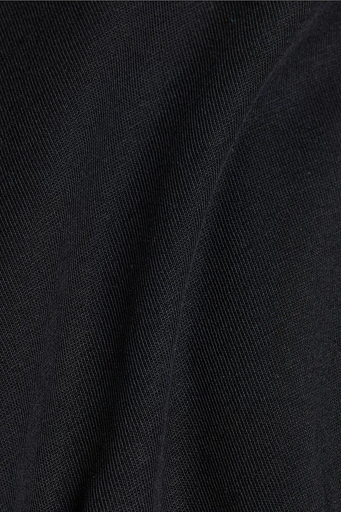 T-Shirt mit Foto-Print, 100% Organic Cotton, BLACK, detail image number 4