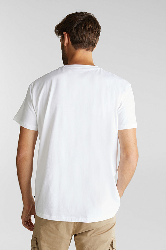 Jersey top made of 100% organic cotton, WHITE, detail image number 3