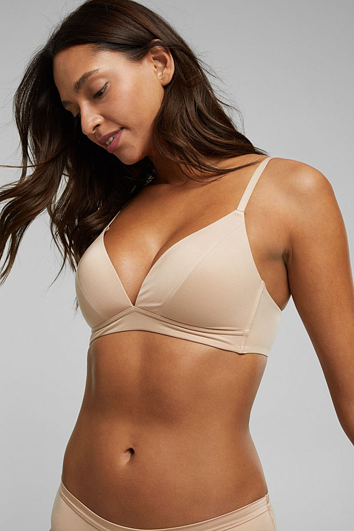 Padded non-wired bra, extremely soft and comfy