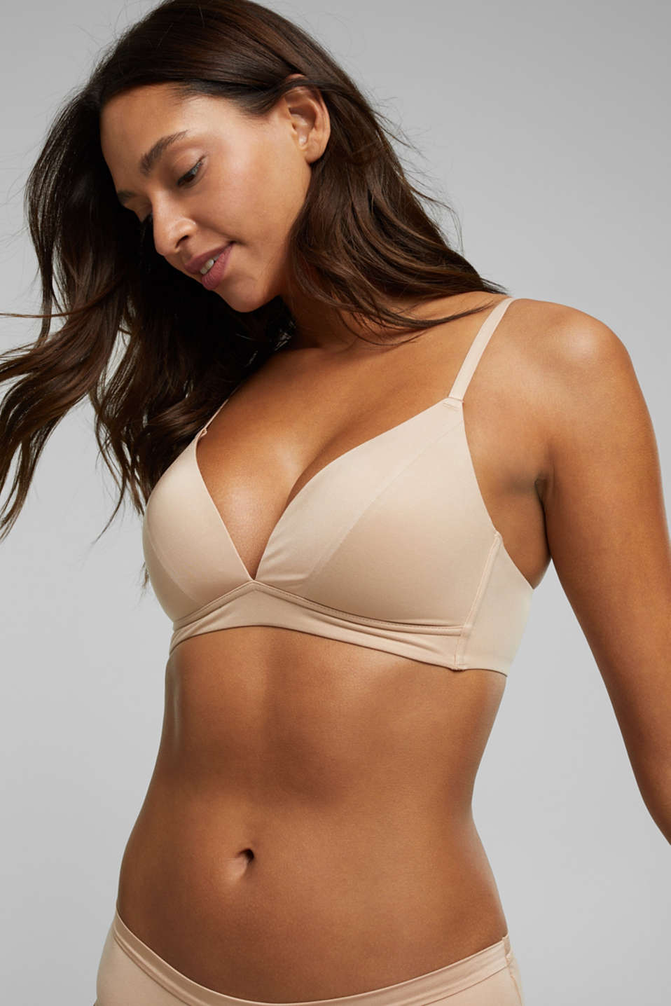 Esprit - Padded non-wired bra, extremely soft and comfy