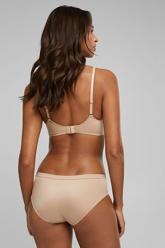 Padded non-wired bra, extremely soft and comfy, NUDE, detail image number 1