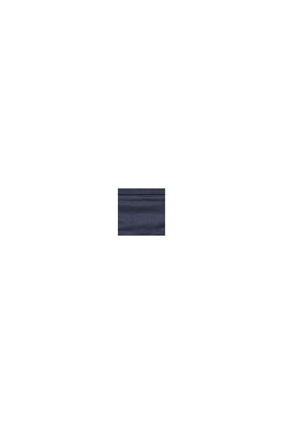 String taille basse doux et confortable, NAVY, swatch