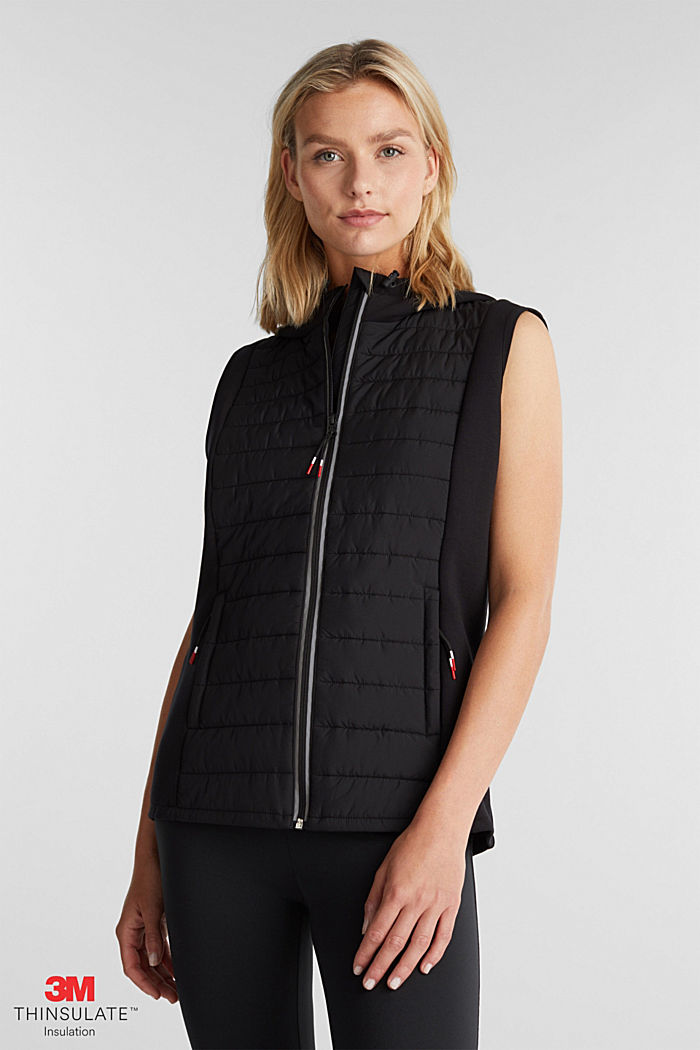 Quilted body warmer with 3M™ Thinsulate™ filling