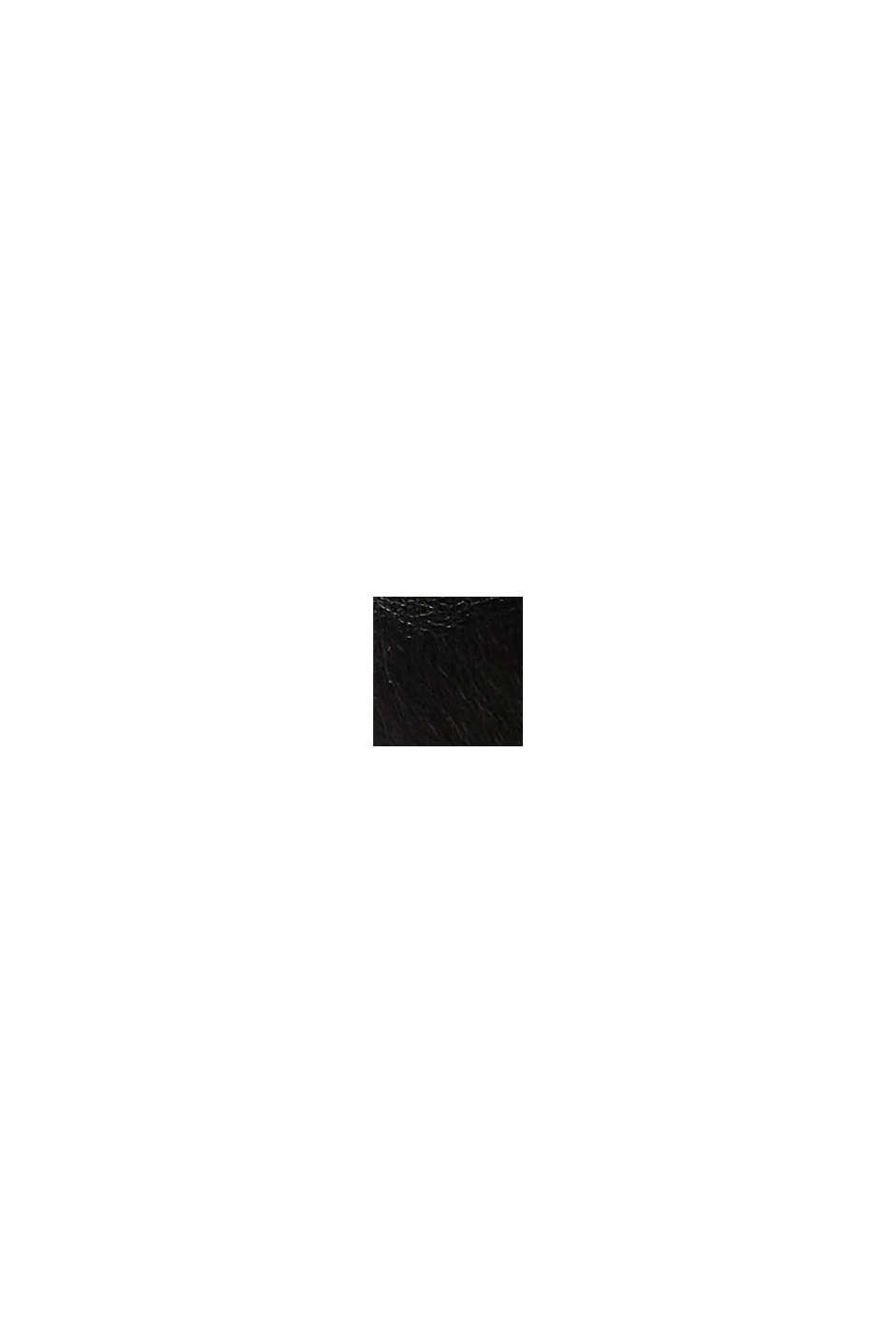 Booties in Leder-Optik, BLACK, swatch