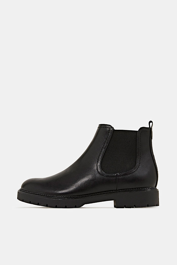 Chelsea boots in faux leather