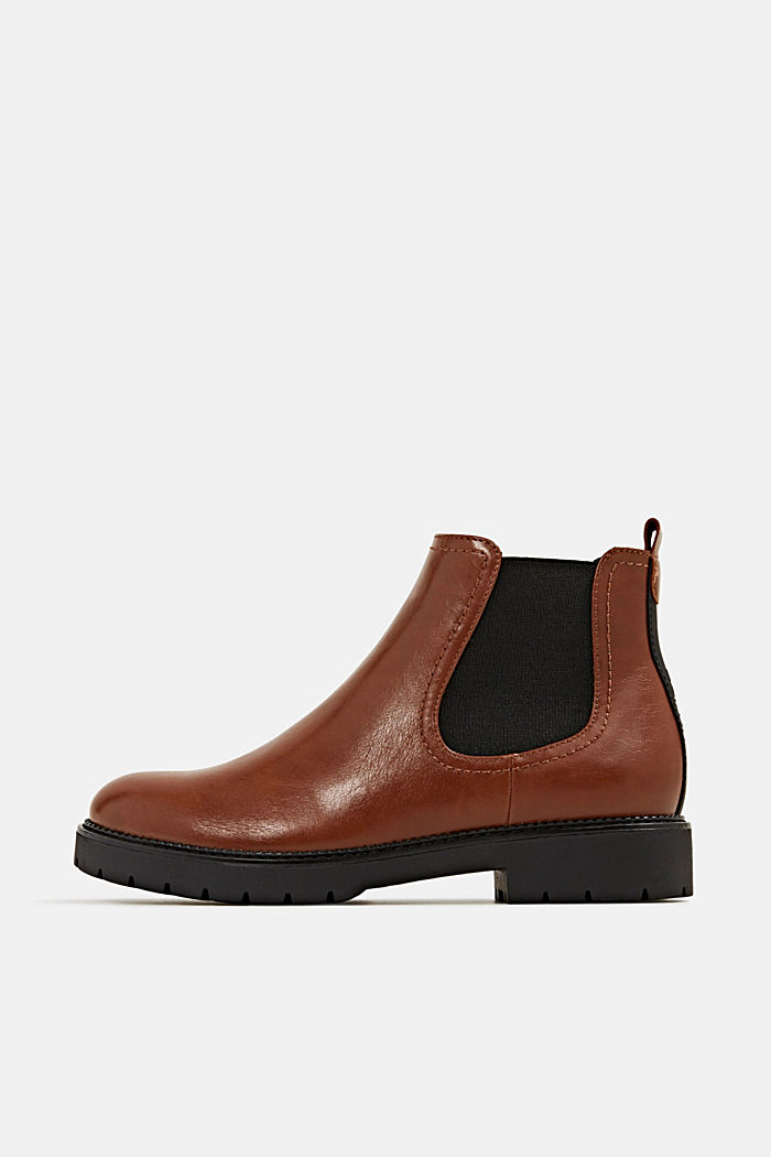 Chelsea Boot in Leder-Optik