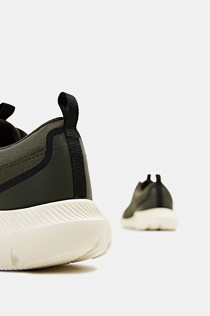 Sneaker aus Material-Mix, DARK GREEN, detail image number 5