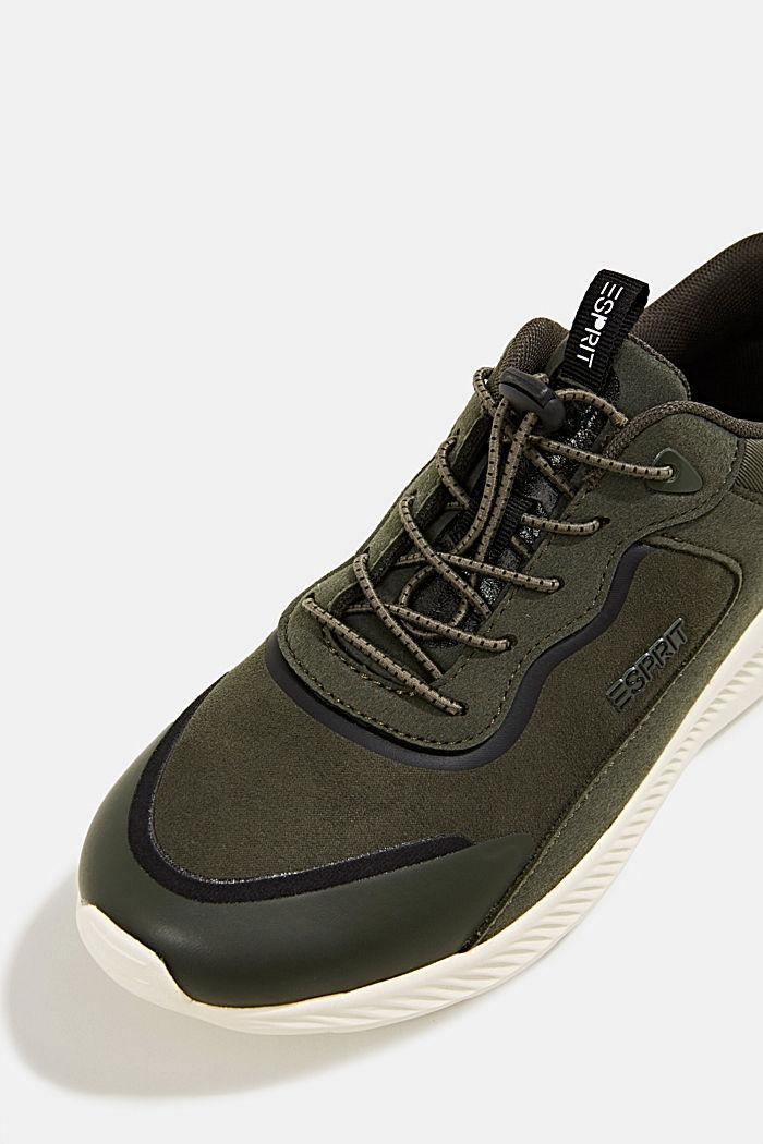 Sneaker aus Material-Mix, DARK GREEN, detail image number 4