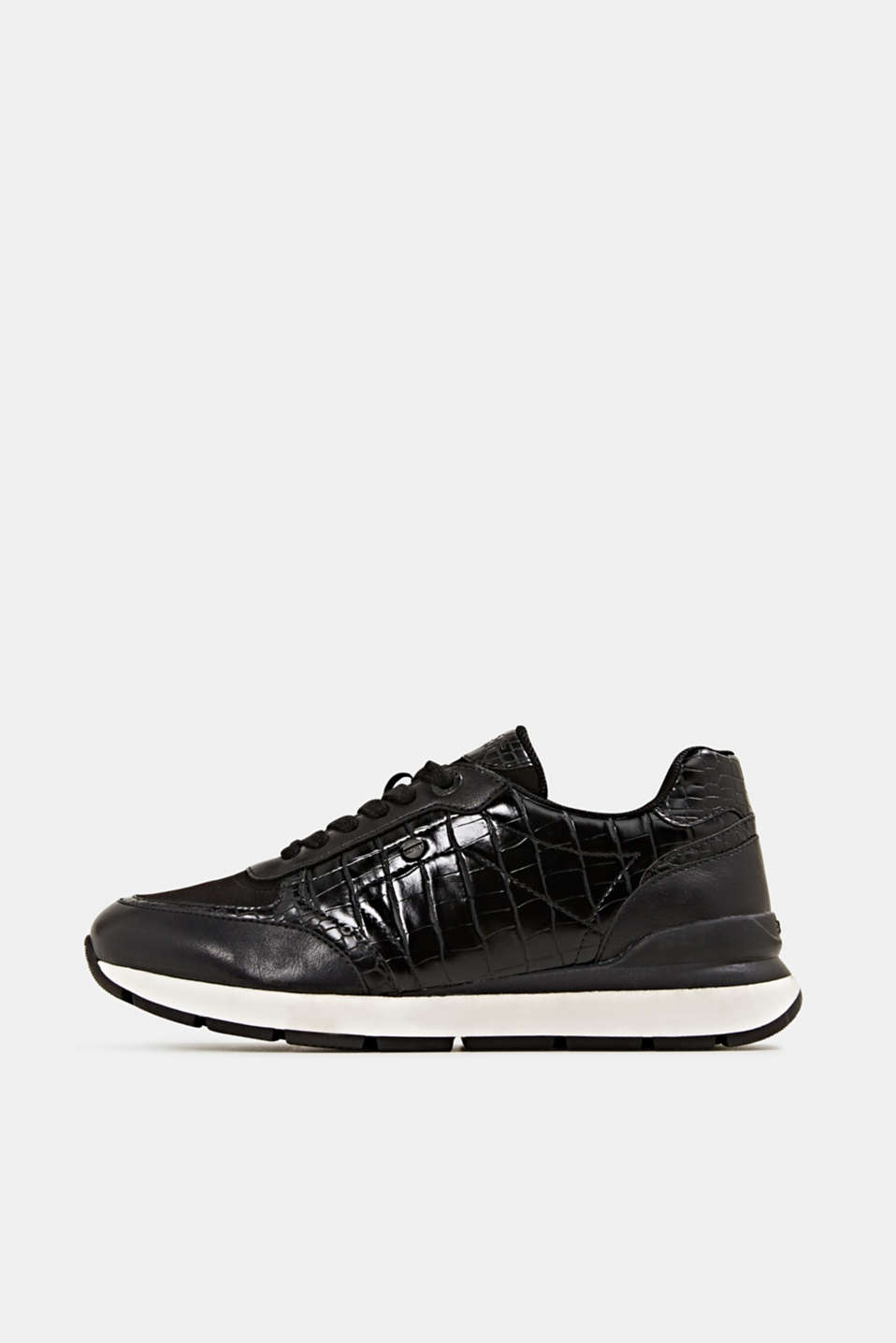Esprit - Fashion Sneaker in Leder-Optik