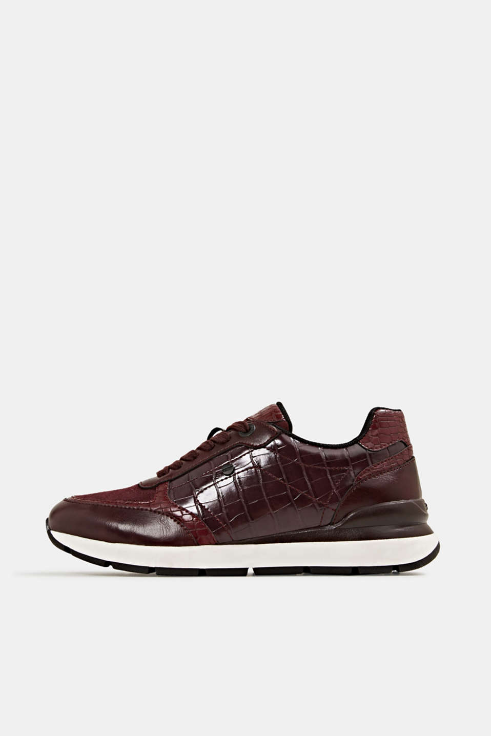 Esprit - Fashion sneakers i læderlook