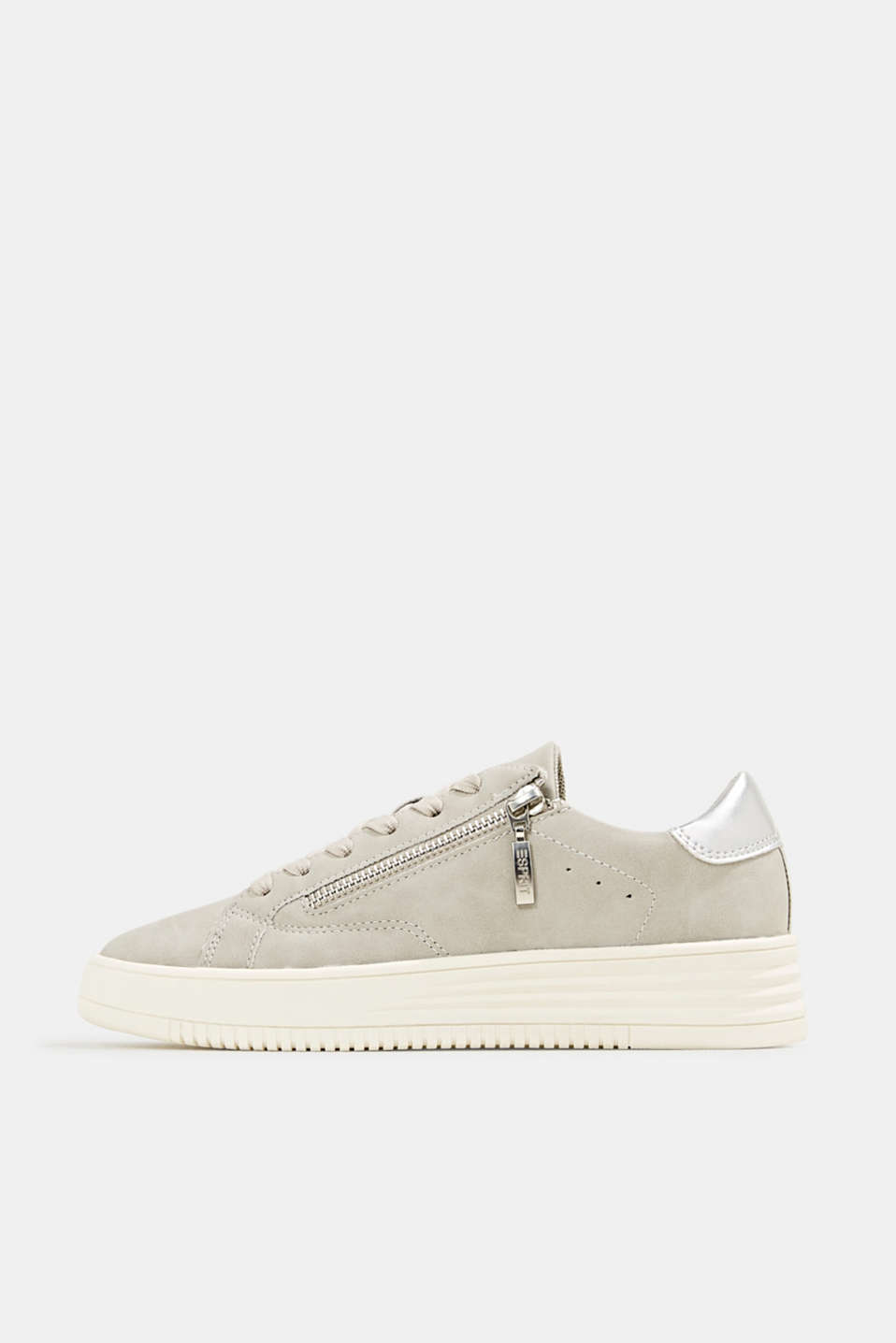 Esprit - Sneakers In similpelle con suola larga