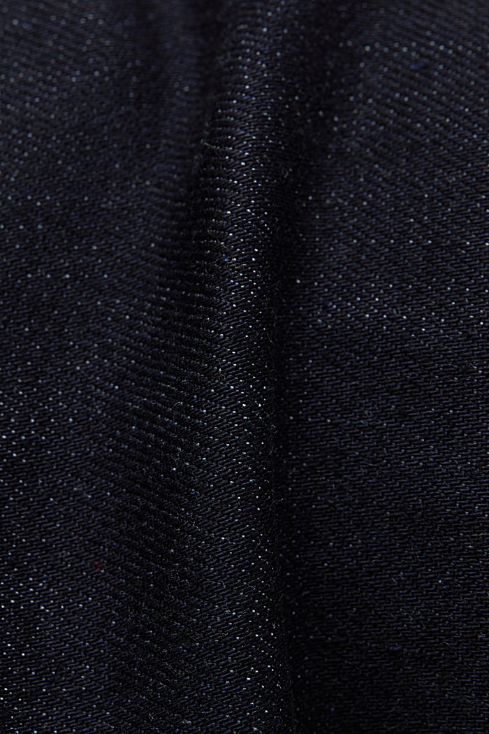 Business jeans with organic cotton, BLUE RINSE, detail image number 4