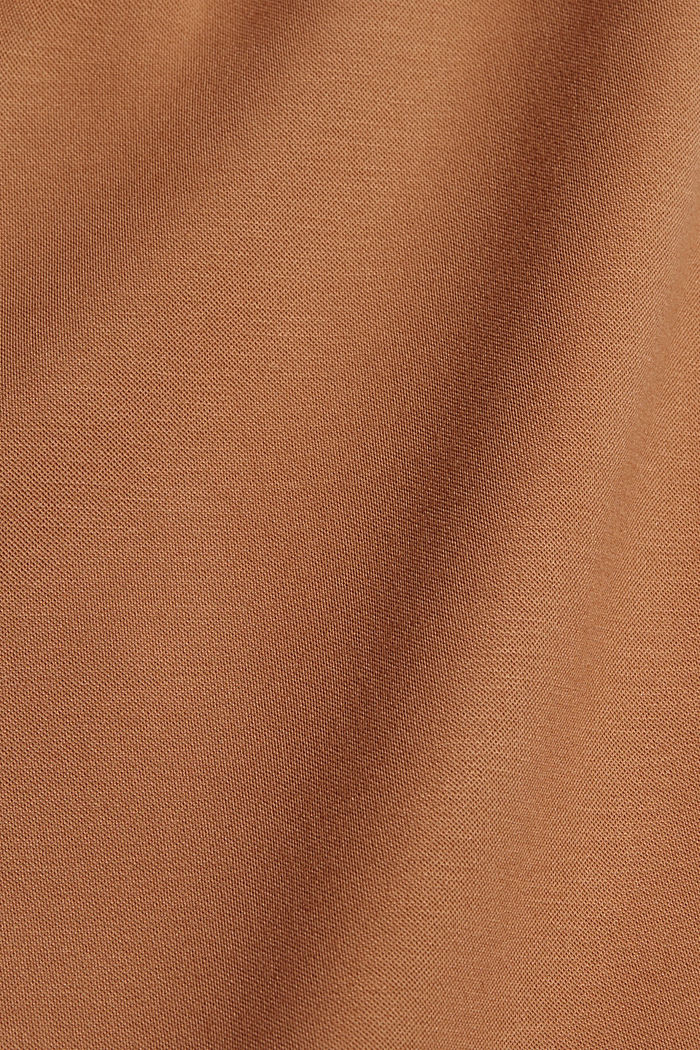 Recycled: PUNTO Mix & Match trousers, CAMEL, detail image number 4