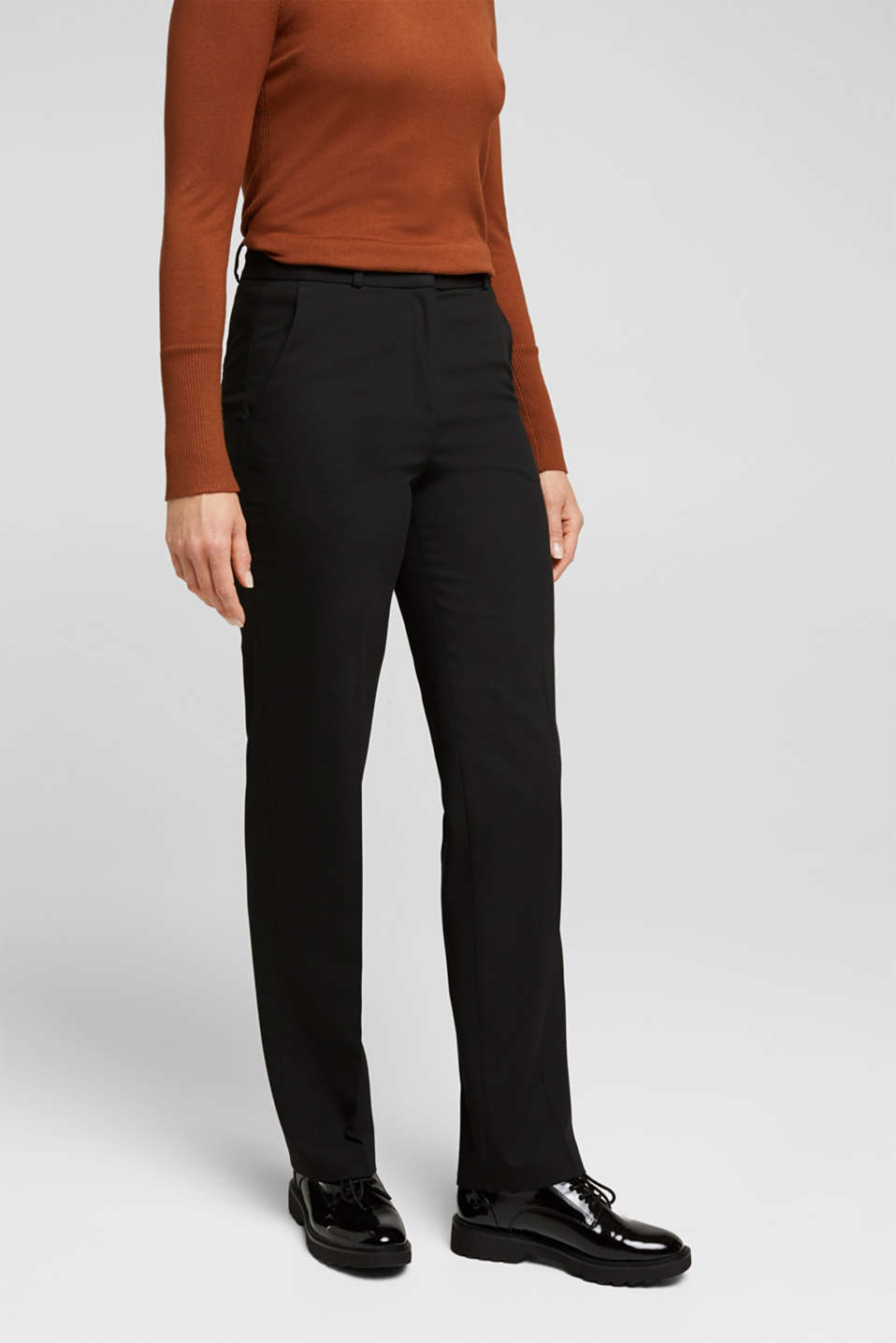 Esprit - TWILL STRUCTURE mix + match trousers