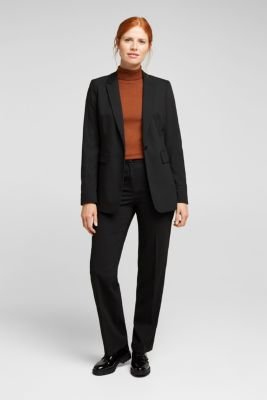 TWILL STRUCTURE mix + match trousers, BLACK, detail