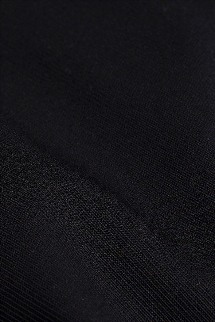 TWILL STRUCTURE mix + match trousers, BLACK, detail image number 4