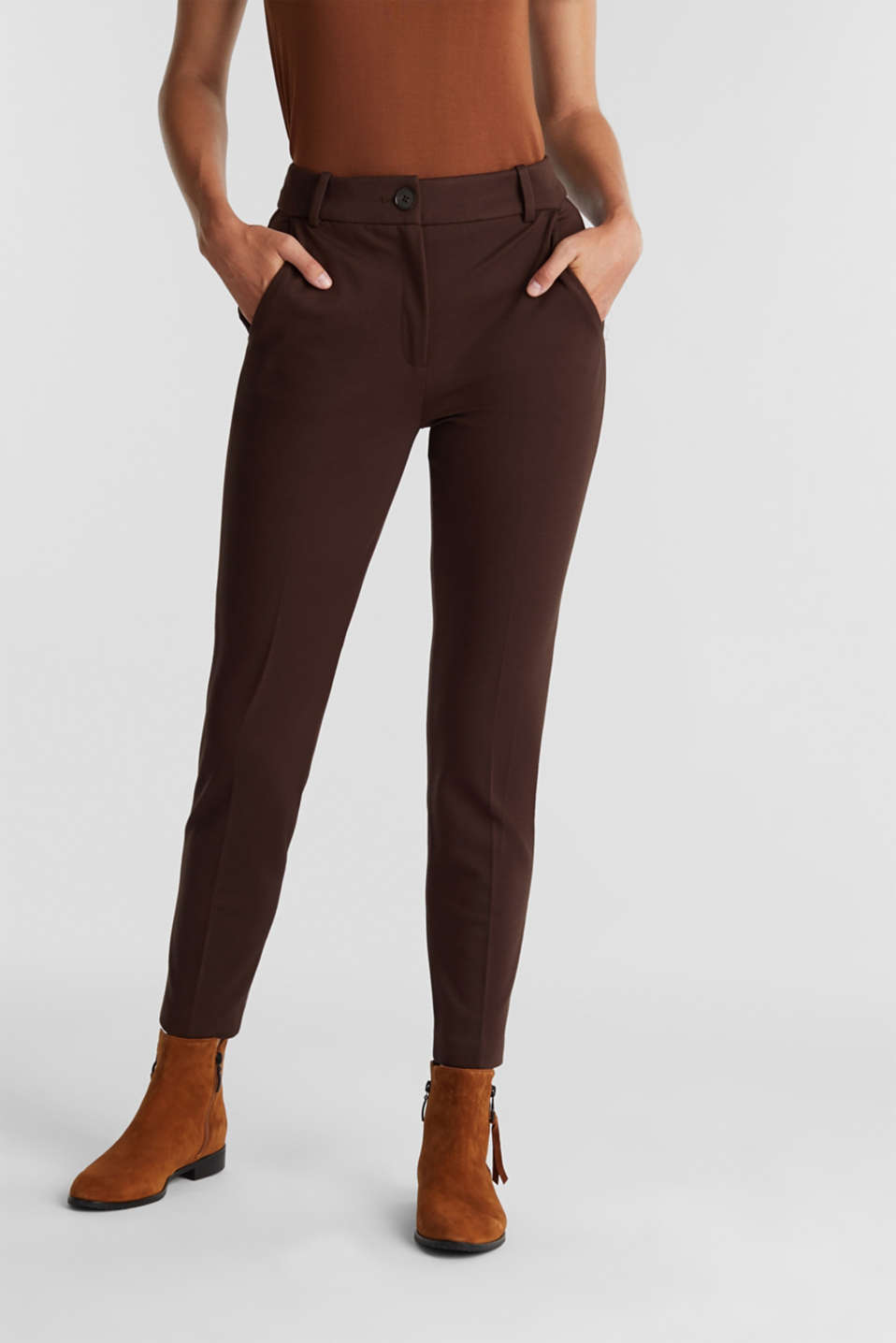 Esprit - Recycled: PUNTO Mix & Match trousers