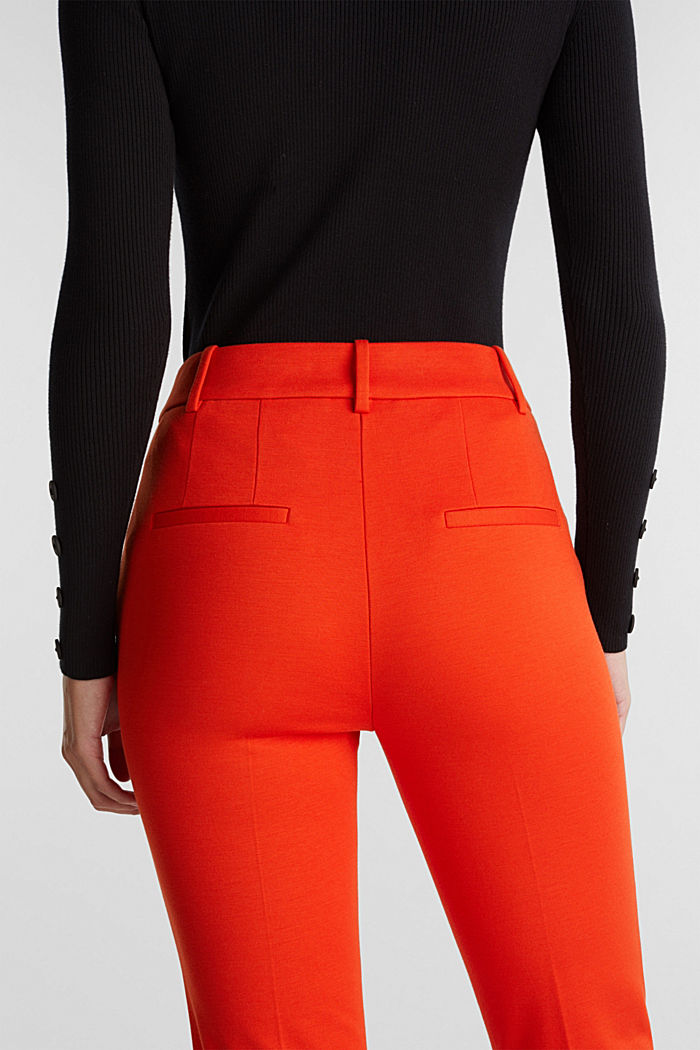 Recycled: PUNTO Mix & Match trousers, RUST ORANGE, detail image number 2