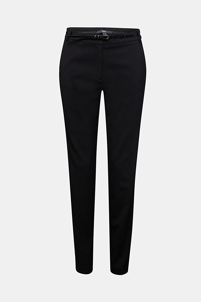 PURE BUSSINESS Mix + Match Trousers, BLACK, detail image number 6