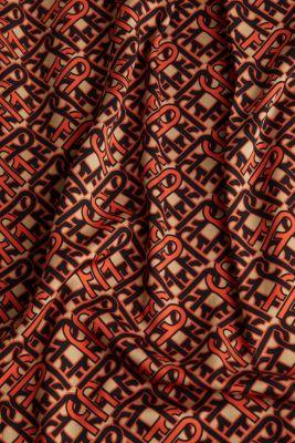 Modern, printed LENZING™ ECOVERO™ dress, CAMEL 4, detail