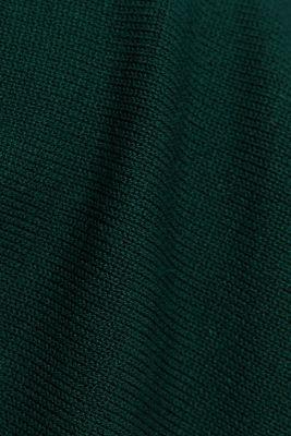 Knit dress with LENZING™ ECOVERO™, BOTTLE GREEN, detail