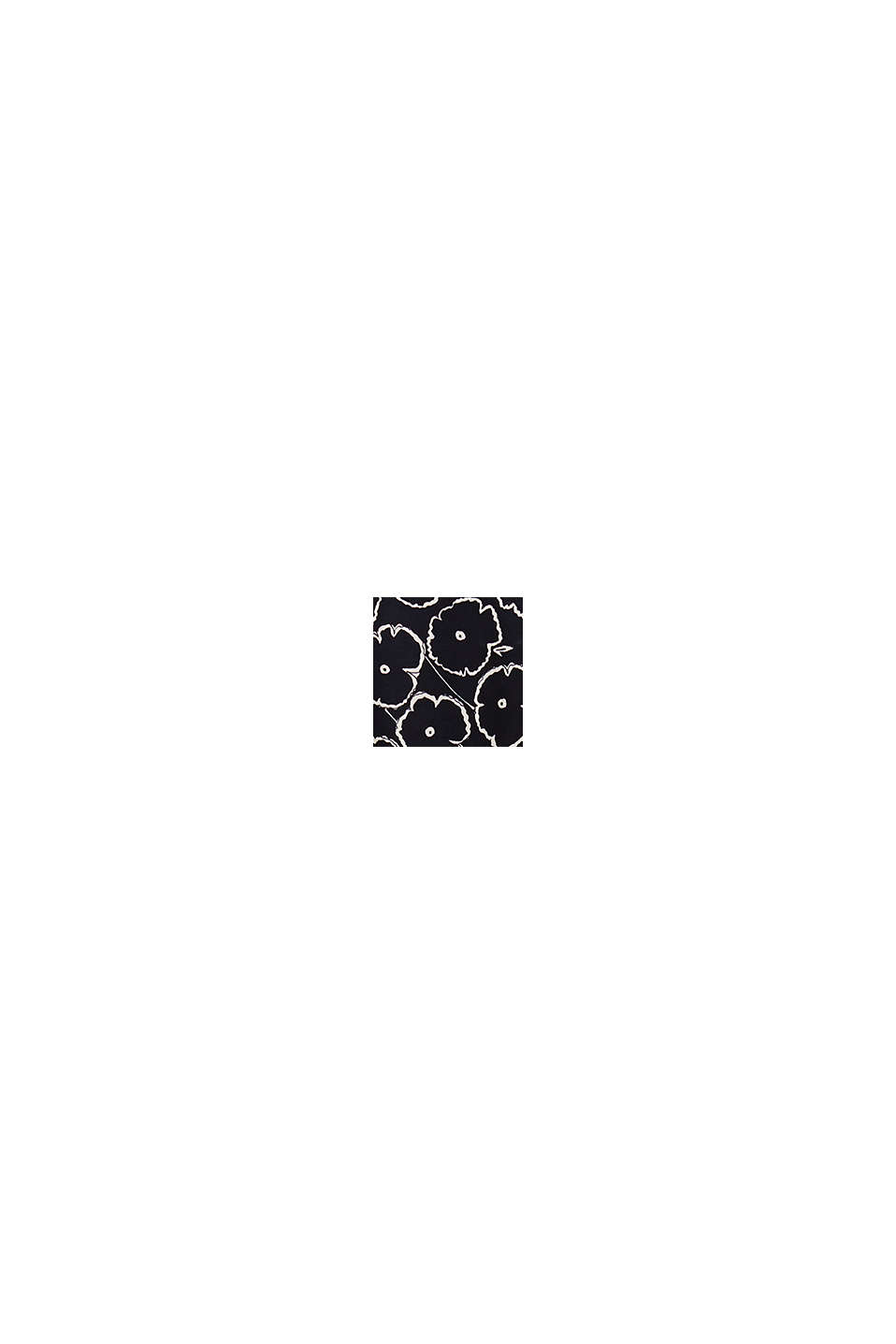 Print-bluse af LENZING™ECOVERO™, BLACK, swatch