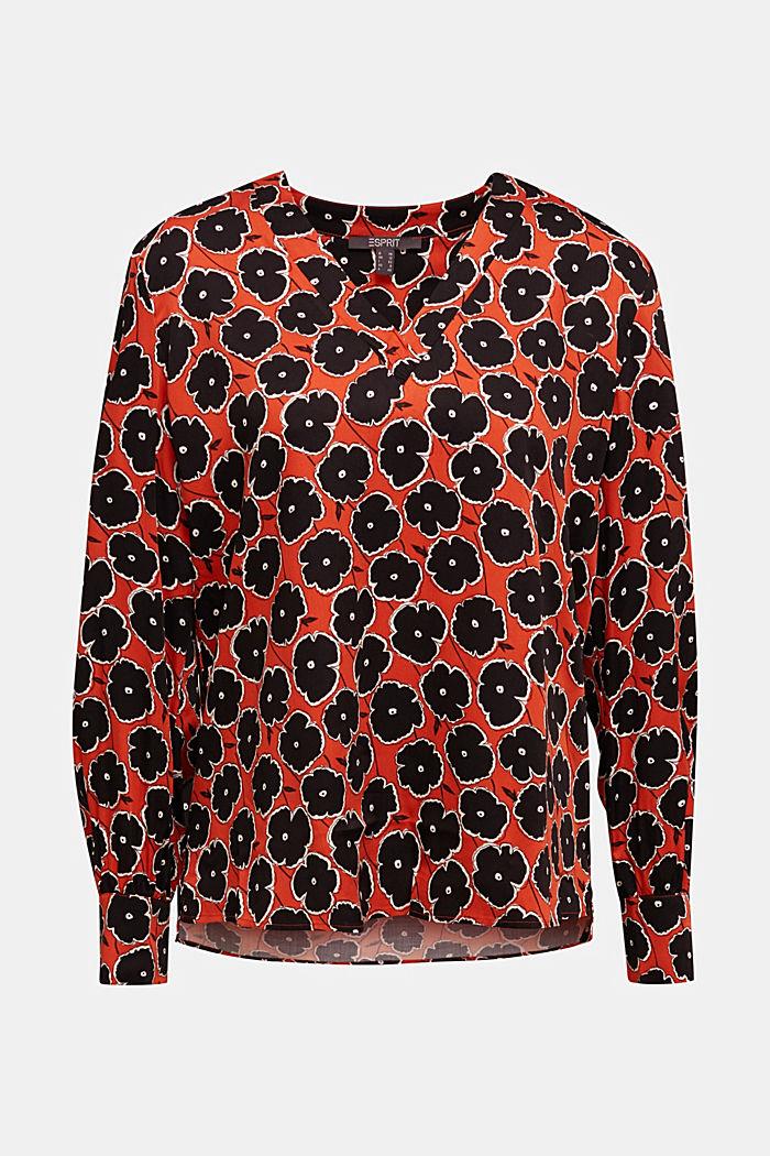 Blusa estampada de LENZING™ ECOVERO™