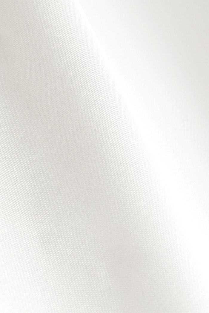 Satin blouse made of LENZING™ ECOVERO™, OFF WHITE, detail image number 4