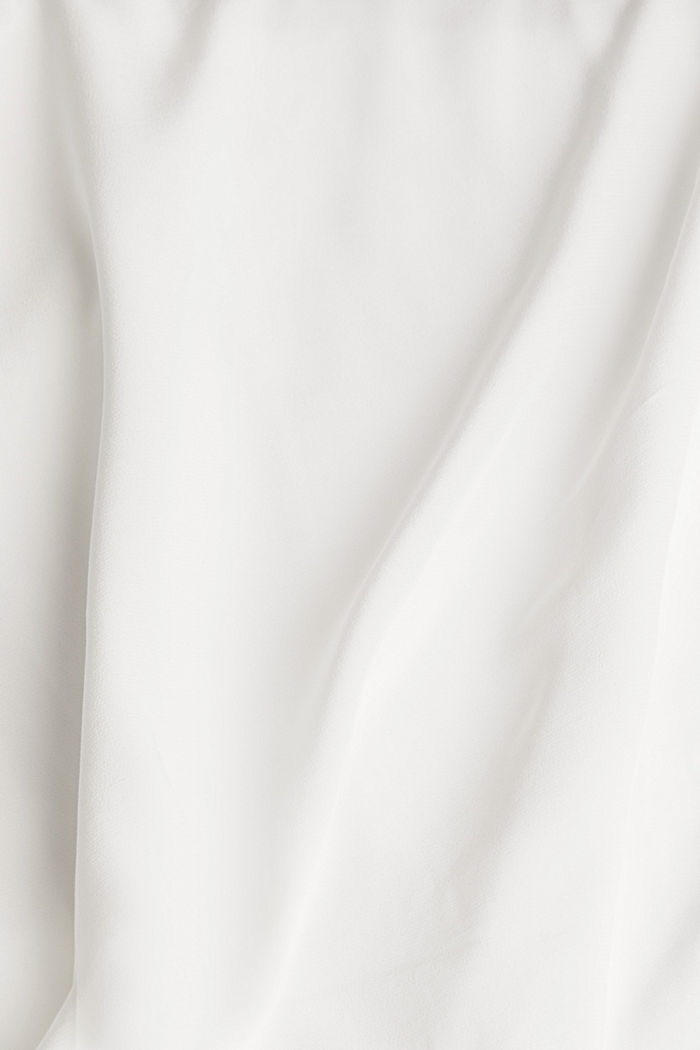 Batwing blouse made of LENZING™ ECOVERO™, OFF WHITE, detail image number 4