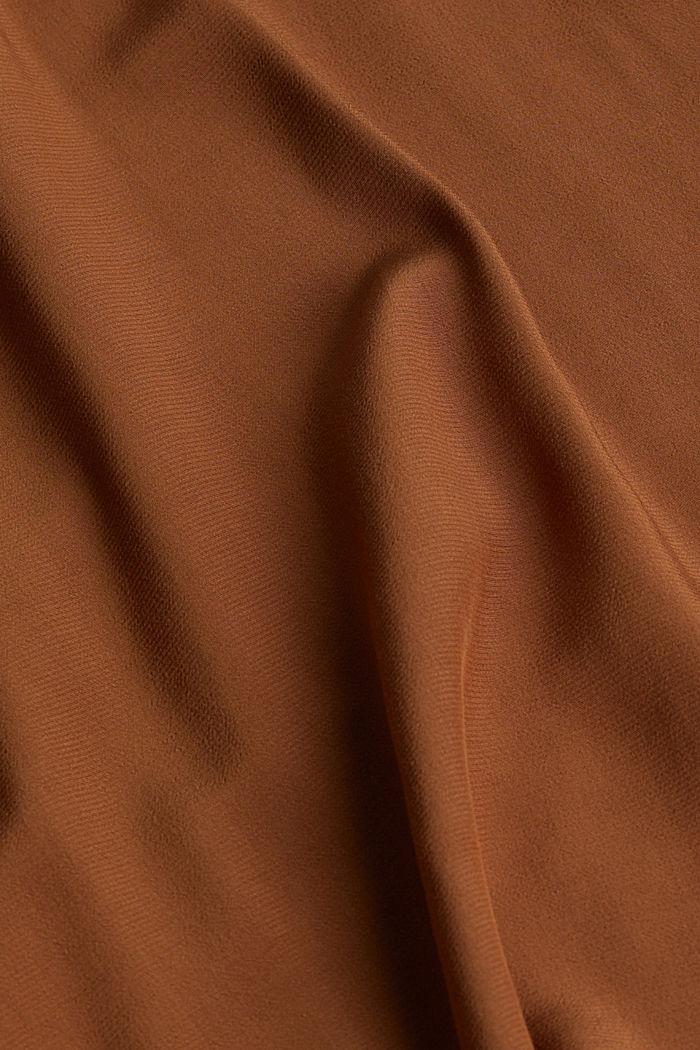 Blouse met vleermuismouwen, van LENZING™ ECOVERO™, TOFFEE, detail image number 3