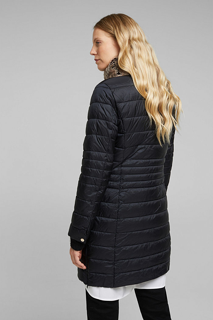 Recycled: 3M™ Thinsulate™ quilted coat, BLACK, detail image number 3