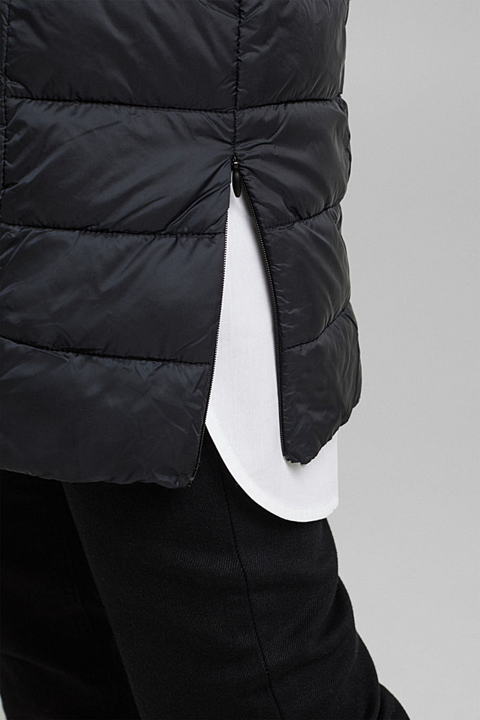 Recycled: 3M™ Thinsulate™ quilted coat, BLACK, detail image number 5