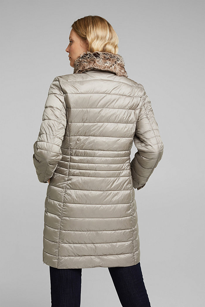 Recycled: 3M™ Thinsulate™ quilted coat, LIGHT GREY, detail image number 3
