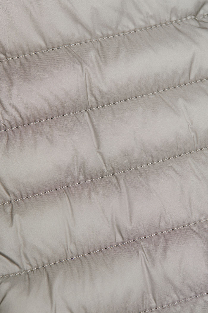 Recycled: 3M™ Thinsulate™ quilted coat, LIGHT GREY, detail image number 4