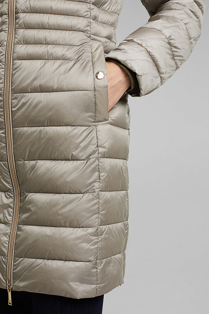 Recycled: 3M™ Thinsulate™ quilted coat, LIGHT GREY, detail image number 5