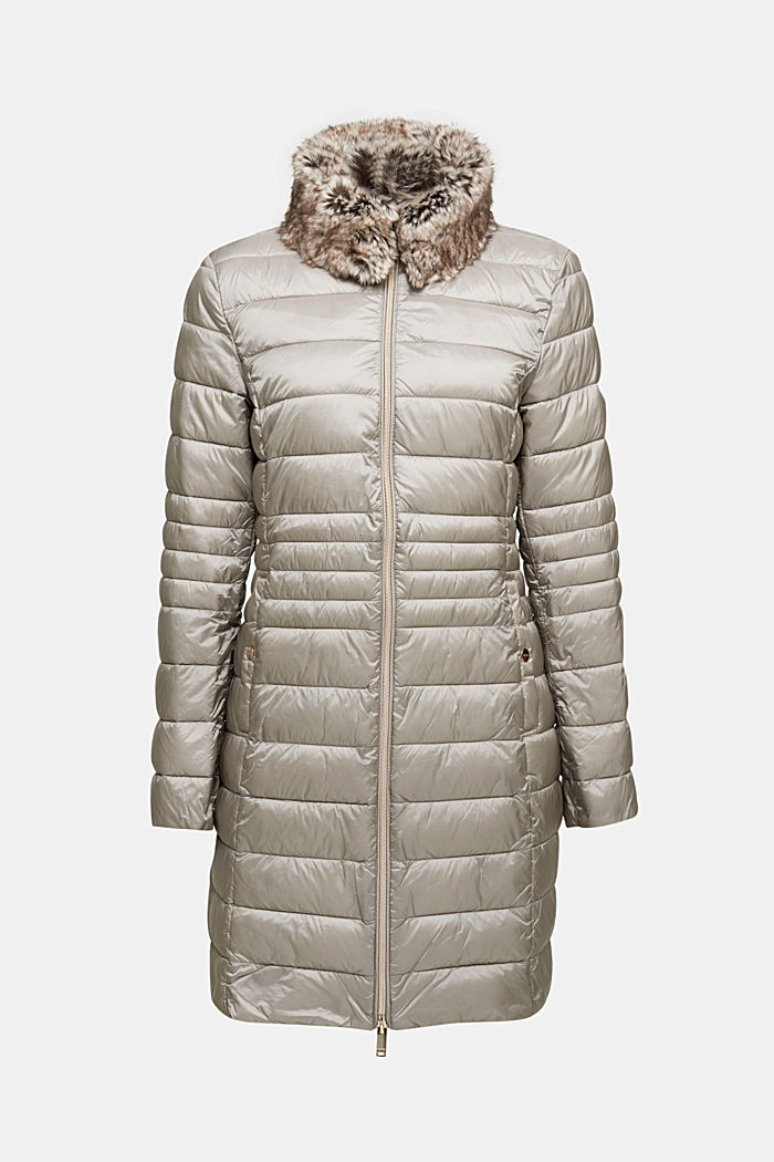 Recycled: 3M™ Thinsulate™ quilted coat, LIGHT GREY, detail image number 6