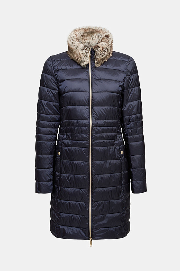 Recycled: 3M™ Thinsulate™ quilted coat, NAVY, detail image number 6