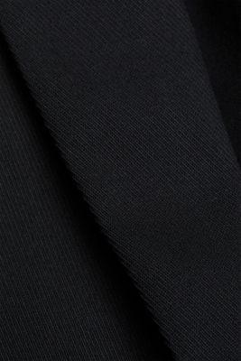 Blazer with a striped texture, BLACK, detail