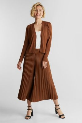 Cardigan made of LENZING™ ECOVERO™, TOFFEE, detail
